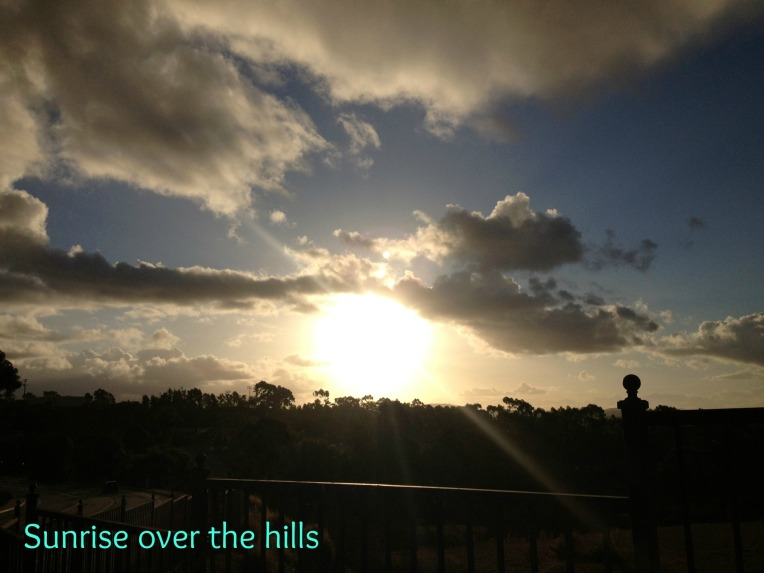 sunriseoverthehills